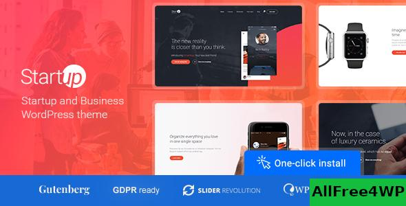 Nulled Startup Company v1.1.0 – Theme for Business & Technology NULLED
